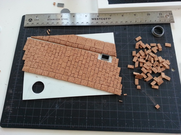 Adding the pavers