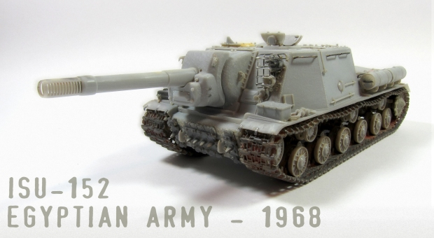 ISU 152 Egyptian army